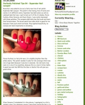 Perfectly Polished Tips blog