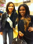 My friend Rheami and I in Neiman Marcus!