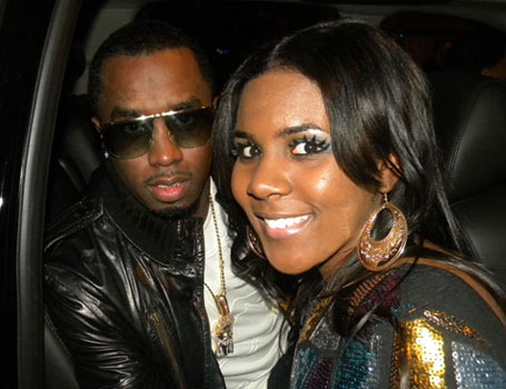 Ariana Pierce with Sean Diddy Combs