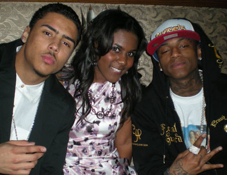 Ariana Pierce with Quincy Brown and Soulja Boy