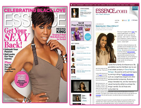 Superstar Nail Lacquer in Essence Magazine
