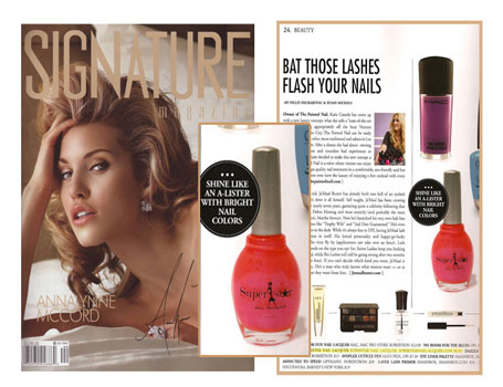 Superstar Nail Lacquer in Signature Magazine