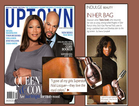 Superstar Nail Lacquer in Uptown Magazine
