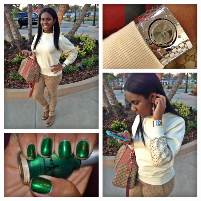 Fashion Diary: Gucci Green