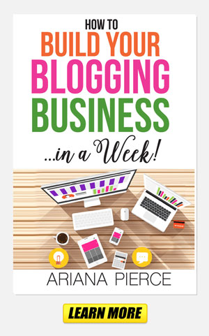 New Book: How to Build Your Blogging Business in a Week