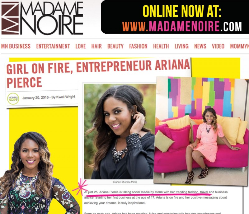 Madamenoir Magazine
