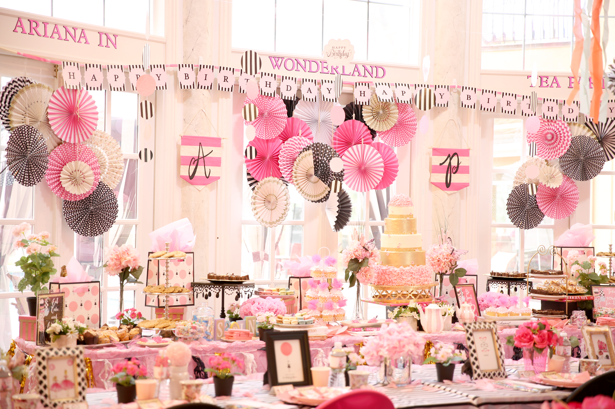 Ariana's Tea Party
