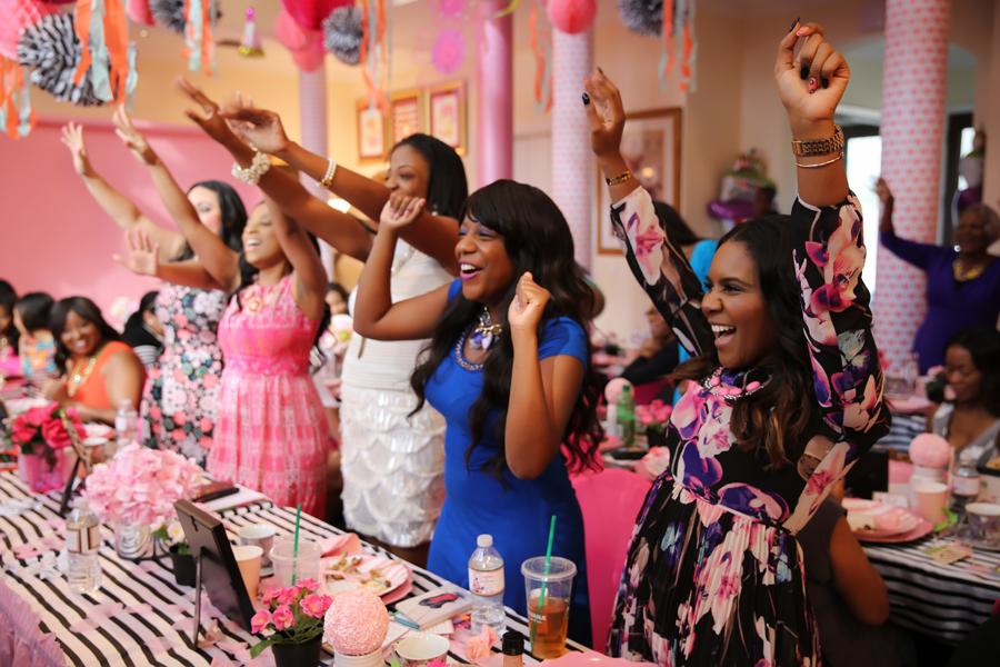 Ariana's Tea Party