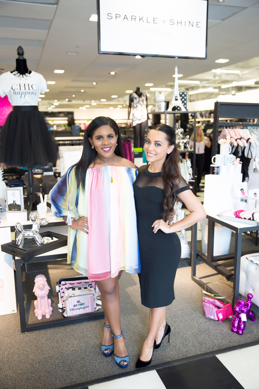 Adrienne and Ariana